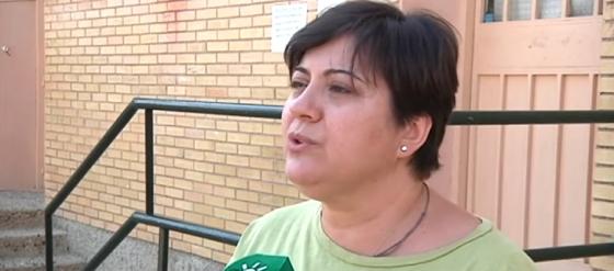 Rocio Lunar, presidenta AMPA CEIP Inspector Ruperto Escobar